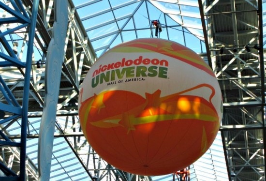 Theme Park: Nickelodeon Universe at Mall of America