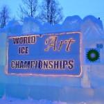 World Ice Art Championship:  Ice, Everywhere You Look it's Ice