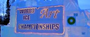 World Ice Art Championship Fairbanks Alaska