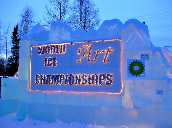 World Ice Art Championship Fairbanks Alaska