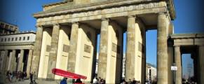 Brandenburg Gate in Berlin. Germany