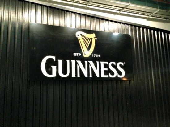 Guinness Pourhouse in Dublin