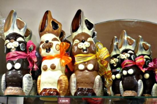 Easter chocolate in Bruges