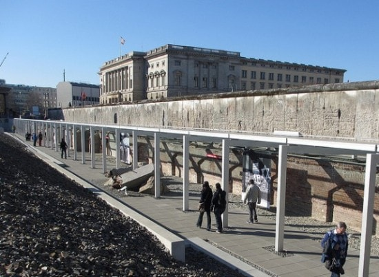 Outdoor exhibits at Topography of Terror, Berlin