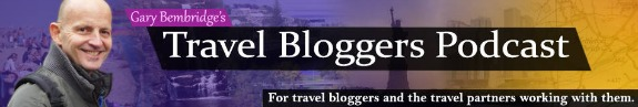 Travel Blogger Podcast logo
