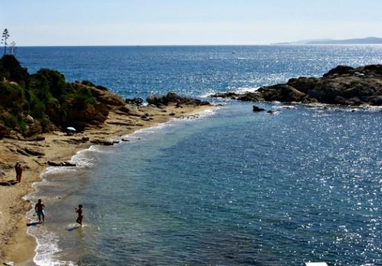 beach in Roses, Spain