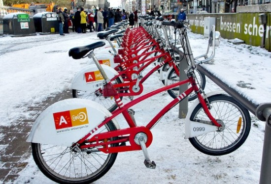 bike rentals in belgium