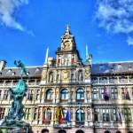 Rolling Along in Antwerp Belgium