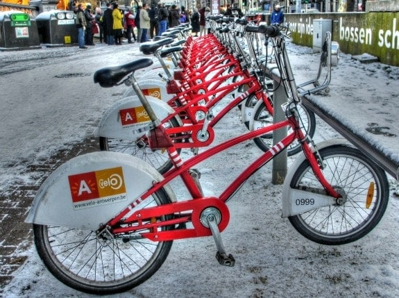 Bikes in Antwerp