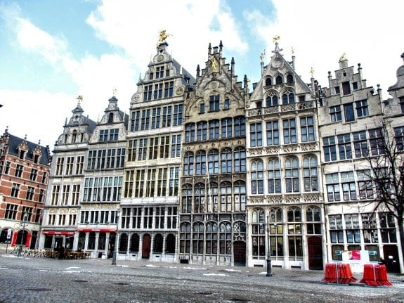 City Square Antwerp Belgium