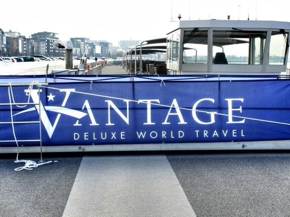 Vantage Welcome Sign