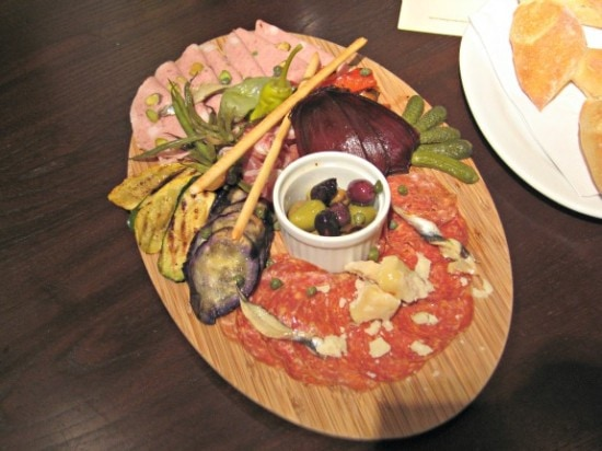 summer antipasto plate