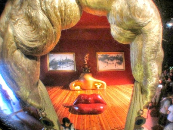 Mae West at Dali Museum Figueres Spain