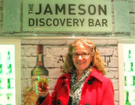 Mary Jo at Jameson in Dublin