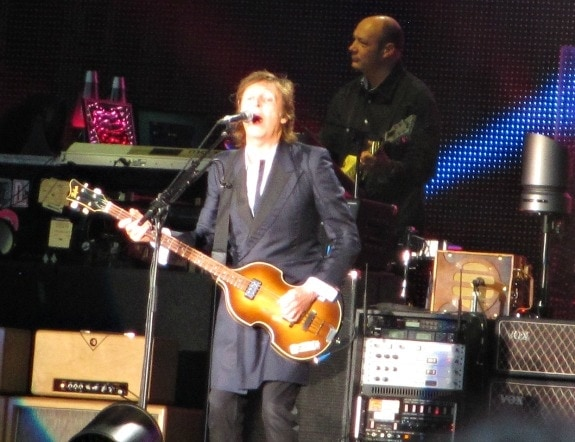 Paul McCartney opens at Safeco Field