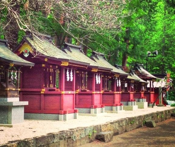 Shinto Shrine near Mt. Fuji, Japan