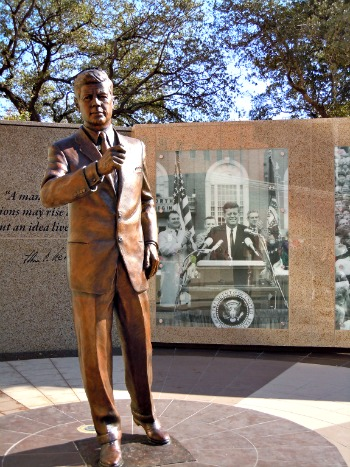 JFK Tribute in Fort Worth Texas