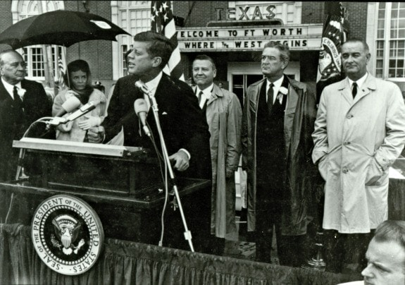 JFK photo in Dallas