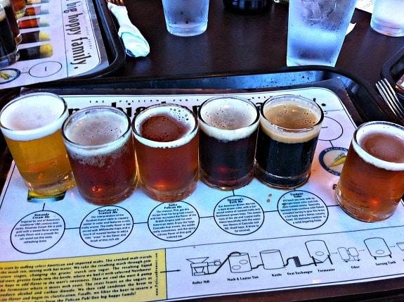 beer sampling