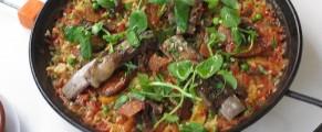 Paella Carne Mixta