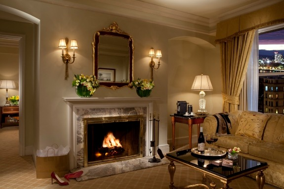 Fireside Suite Celebration at Taj Boston