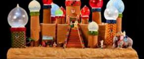 Gingerbread village at Seattle Sheraton