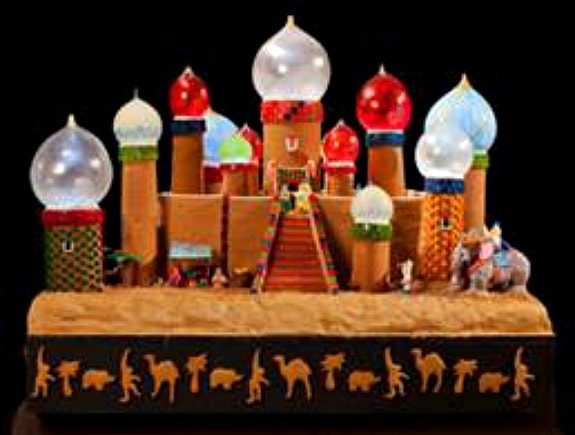 Gingerbread village at Seattle Sheraton