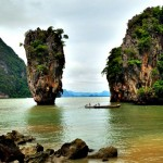 Postcard from James Bond Island, Thailand