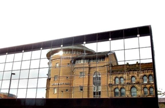 exterior of Malmaison Belfast