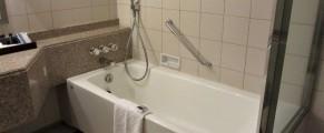 Bathroom of room 5714 of Yokohama Royal Park Hotel