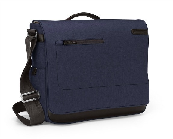 Collins Indigo Chambray Messenger Bag