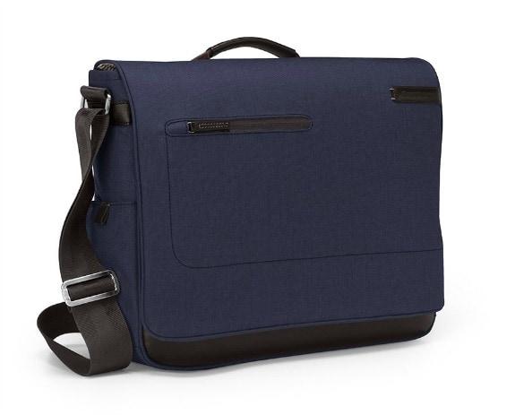 Collins Indigo Chambray Messenger Bag