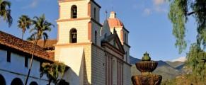 Old Mission in Santa Barbara