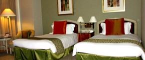 Interior of Room 5714 of Yokohama Royal Park Hotel