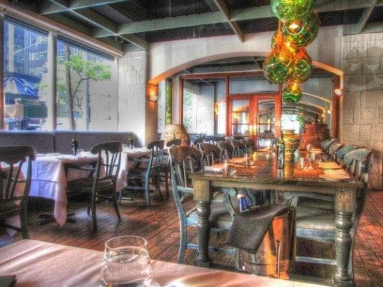 Volos restaurant Toronto interior