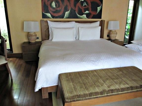 Bedroom at The Banjaran