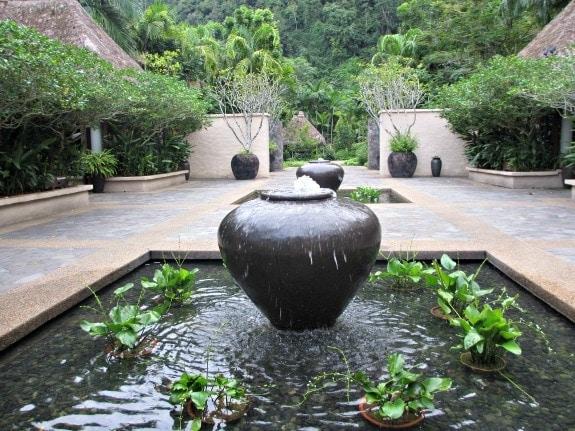 Courtyard at The Banjaran, Malaysia
