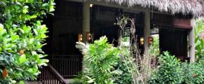 Entrance to Pomelo Restaurant