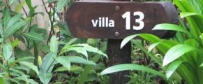 I stayed in Garden Villa 13