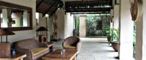 The lobby at The Banjaran