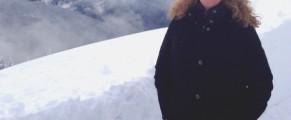 MJ in snow at hurricane ridge, washington