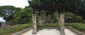 Strolling the grounds at Rasa Sayang Resort