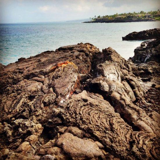lava rocks on Hawaii
