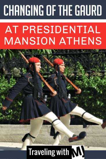 The Evzoni are responsible for guarding the Tomb of the Unknown Soldier, the Presidential Mansion, and the gates of the guard's camp.