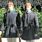 Changing of the Guard at Presidential Mansion in Athens