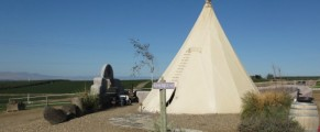 Lonestar teepee at Cherrywood Bed Breakfast and Barn