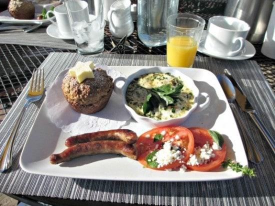 breakfast at Cherry Wood