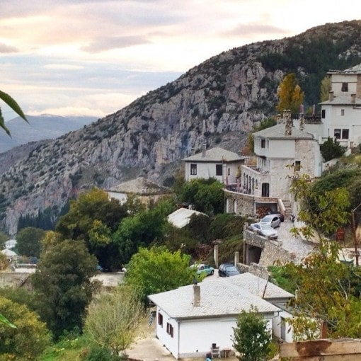 Stone villages in Pelion
