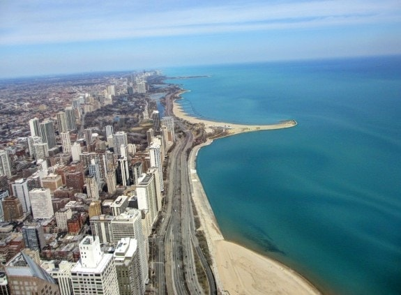 Shores of Lake Michigan, Chicago