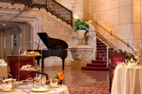 Afternoon Tea at Millennium Biltmore Hotel, L.A.